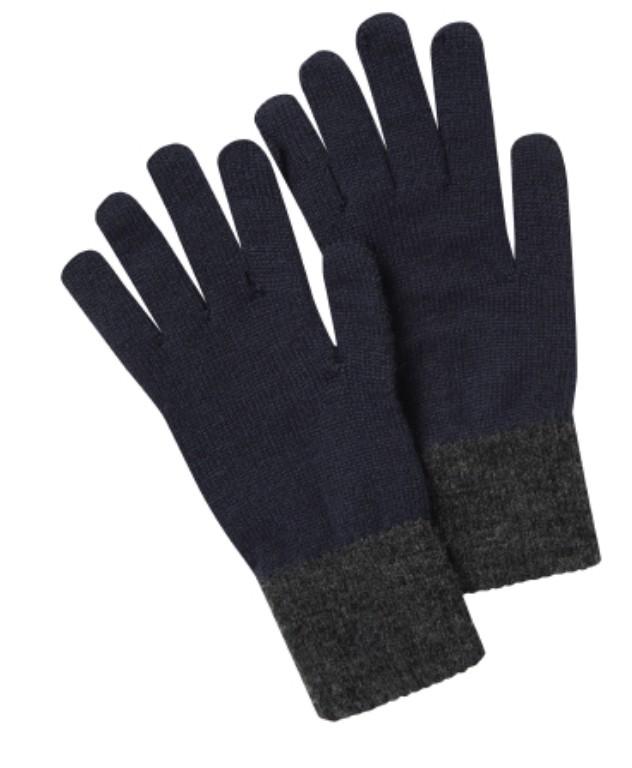 Barleythorpe Glove Navy/Charcoal