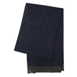 Schoffel Country Barleythorpe Scarf in Navy/Charcoal