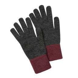 Schoffel Country Barleythorpe Glove in Charcoal/Fig