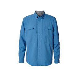 Royal Robbins Expedition Chill L/S Shirt in Parisian Blue