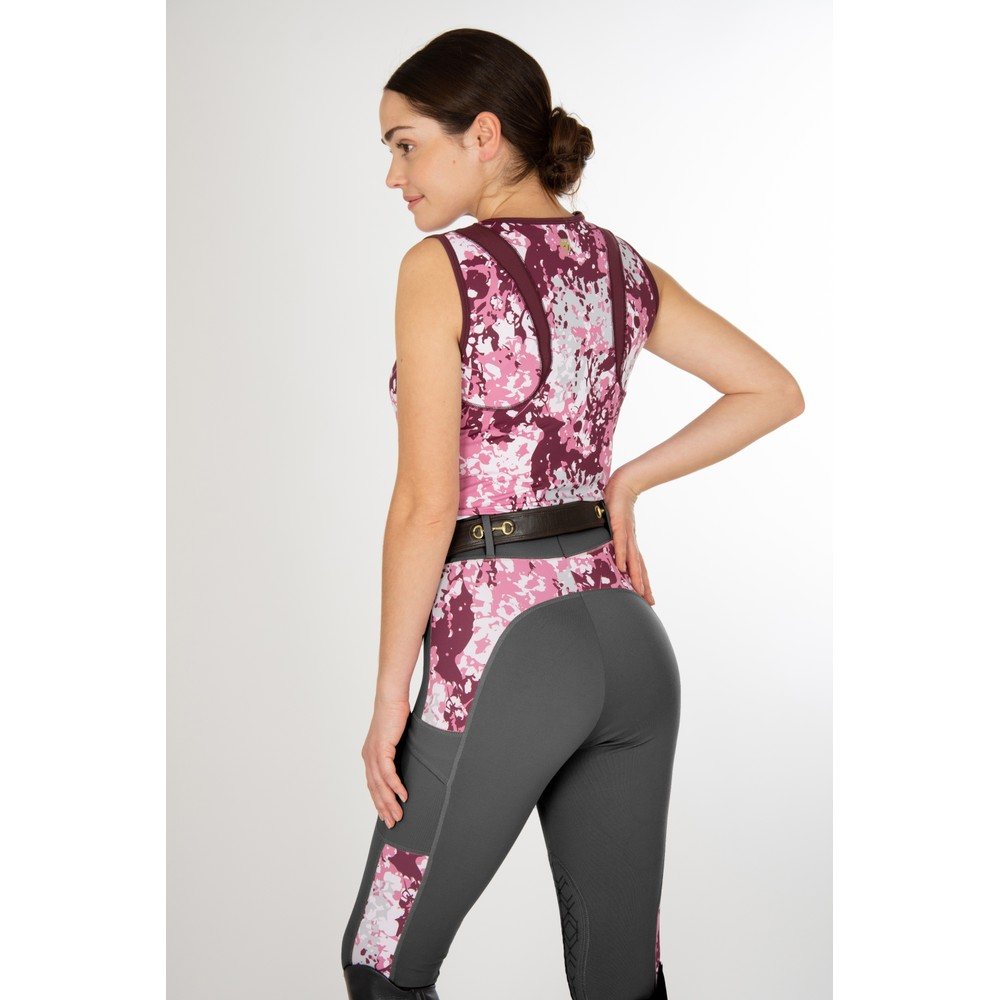 Lily Tank Fig Floral Camo