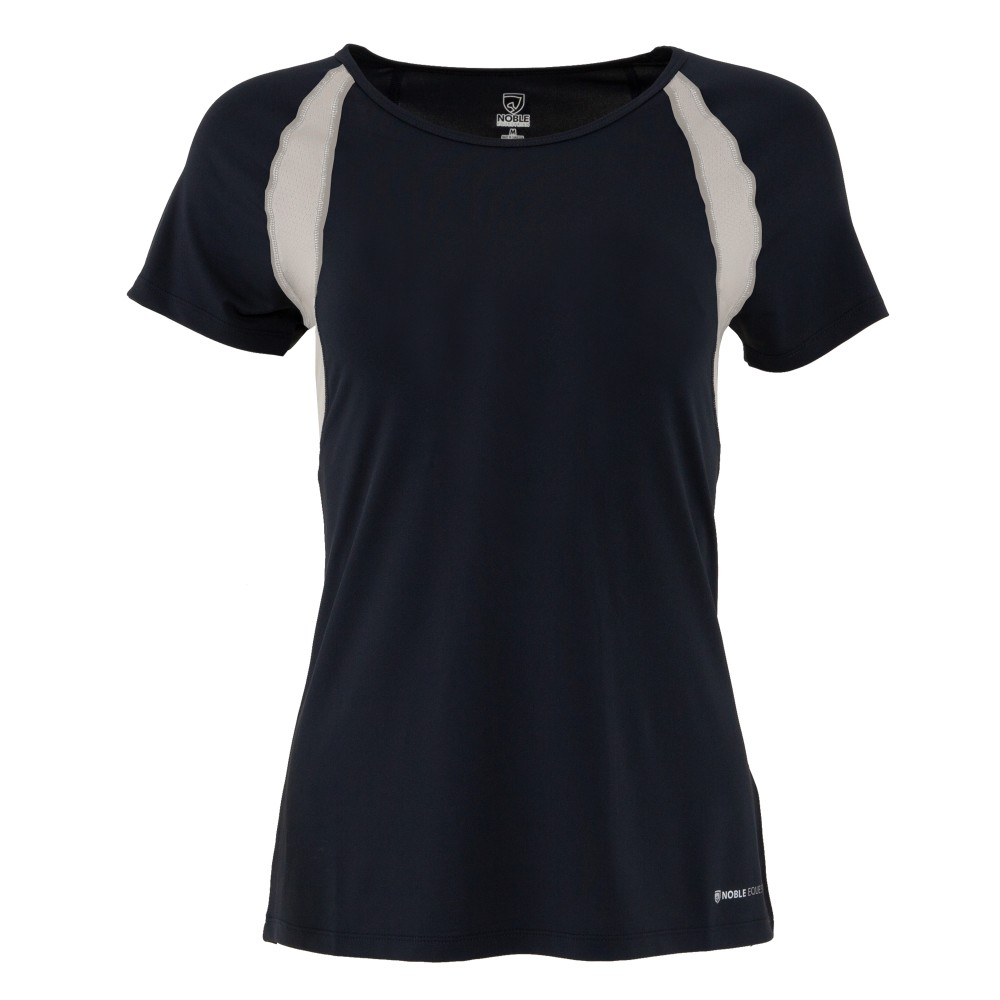 Maddie Short Sleeve Top Dark Navy/Alloy