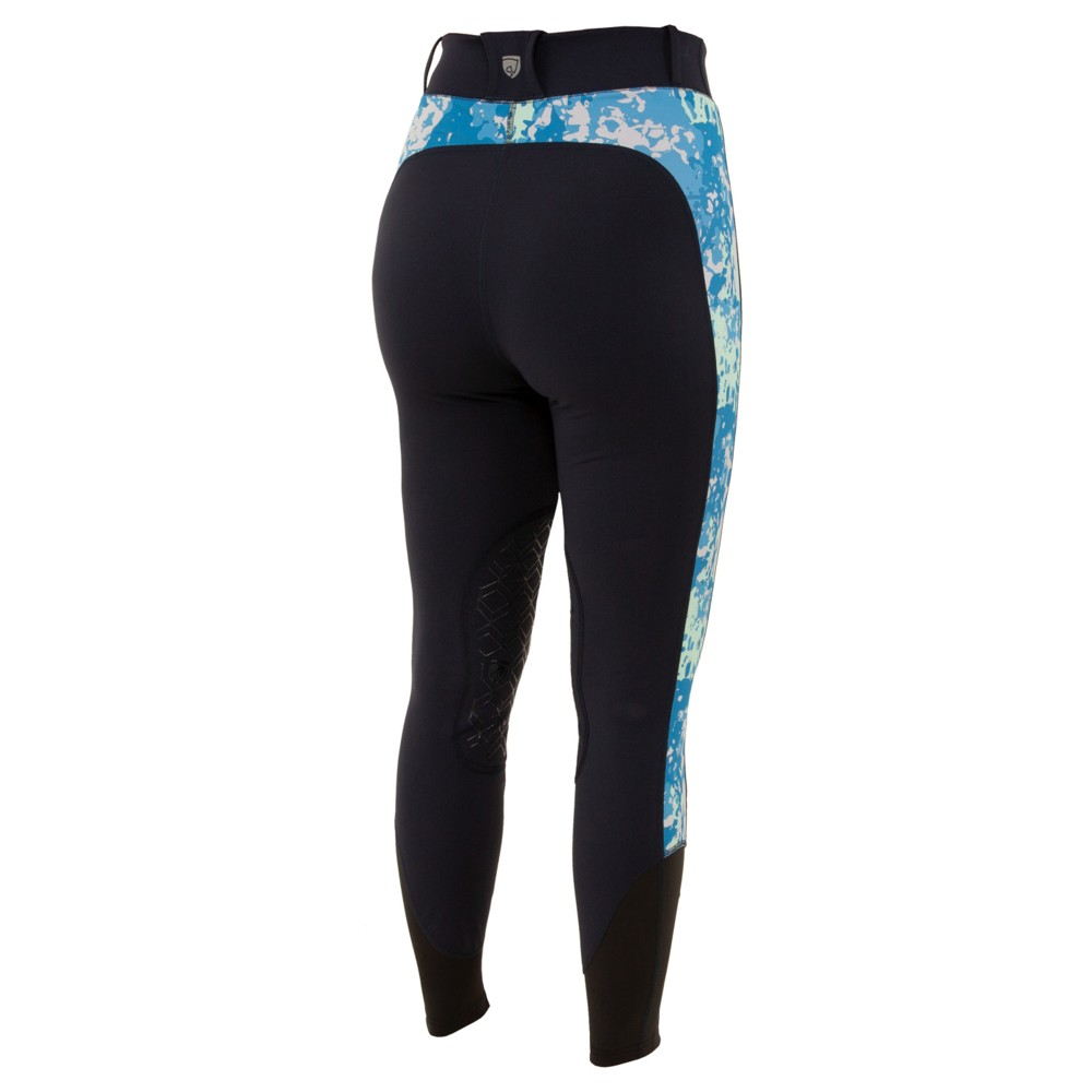 Printed Balance Riding Tight Dark Navy/Imperial Blue Floral Camo