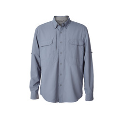 Royal Robbins Bug Barrier Expedition L/S Shirt in Tradewinds