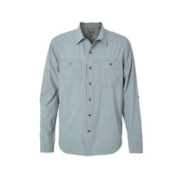 Royal Robbins Long Distance Traveler L/S Shirt in Lead