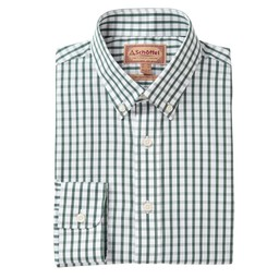 Schoffel Country Harlyn Tailored Fit Shirt in Sage Check