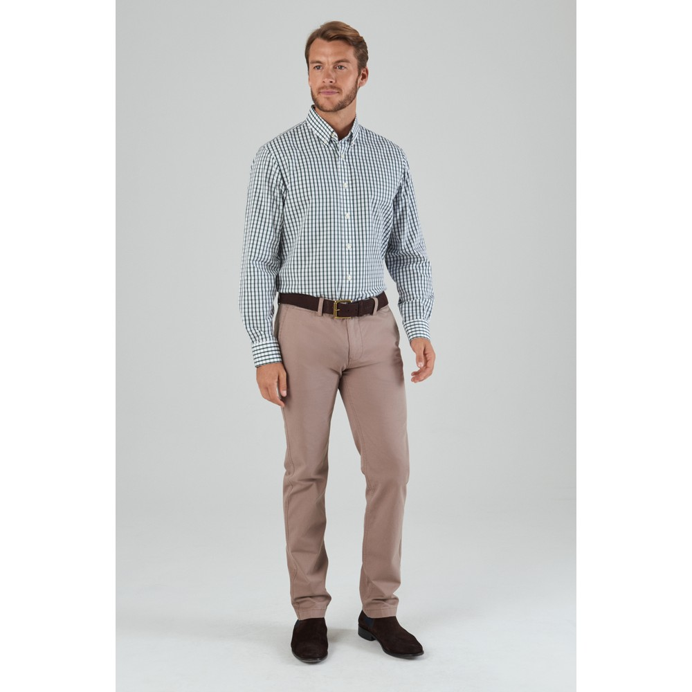 Harlyn Tailored Fit Shirt Sage Check
