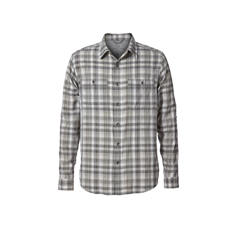 Vista Dry Plaid L/S Shirt