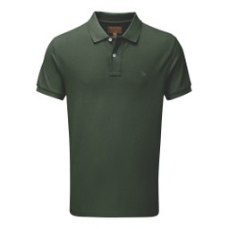 Schoffel Country St Ives Tailored Polo Shirt in Sage
