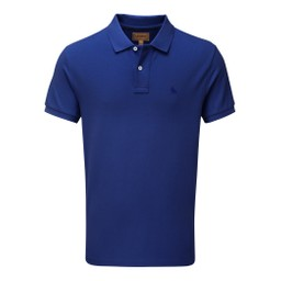 Schoffel Country St Ives Polo Shirt in Marine