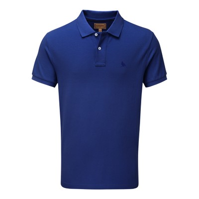 St Ives Tailored Polo Shirt Marine