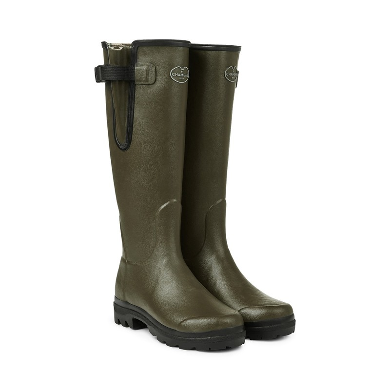 Women's Vierzon Jersey Lined Wellington Boots