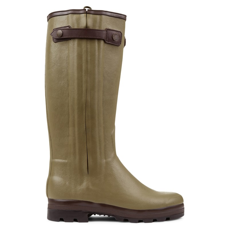 Men's Chasseur Prestige Leather Lined Wellingtons -