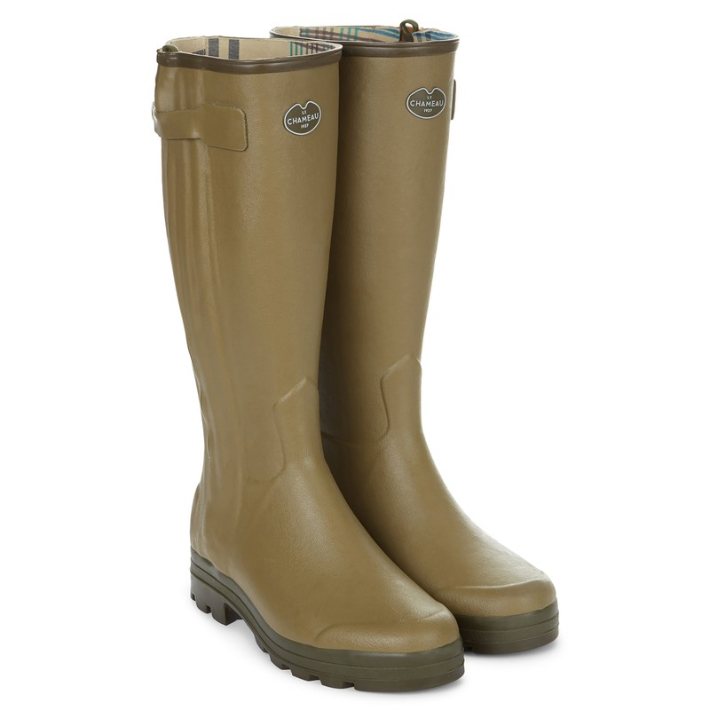 Men's Chasseur Jersey Lined Wellington Boots