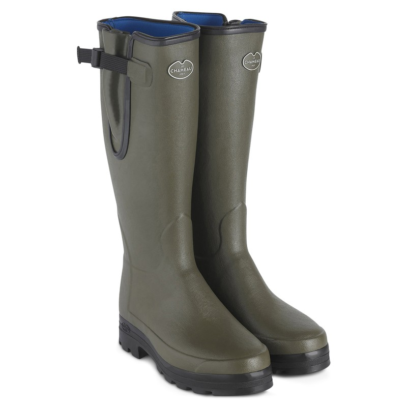 Men's Vierzonord Neoprene Lined Wellington Boots