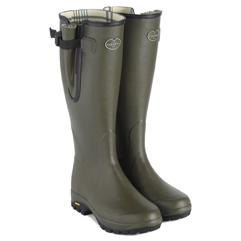 Unisex Vierzon Vibram Jersey Lined Boot