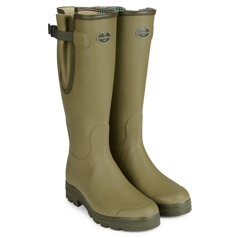 Men's Vierzon Jersey Lined Wellington Boots