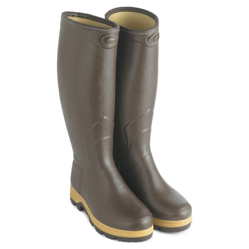 Men's Saint-Hubert Heritage Leather Lined Wellingtons
