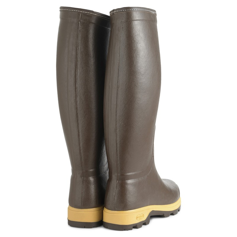 Men's Saint-Hubert Heritage Leather Lined Wellingtons -