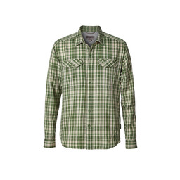 Royal Robbins Bug Barrier Ultra Light L/S Shirt in Elm Green