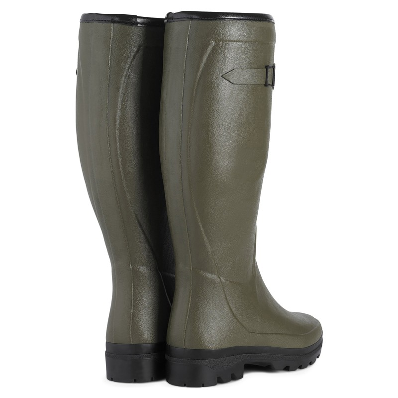 Women's Country Wool Lined Wellington Boots -