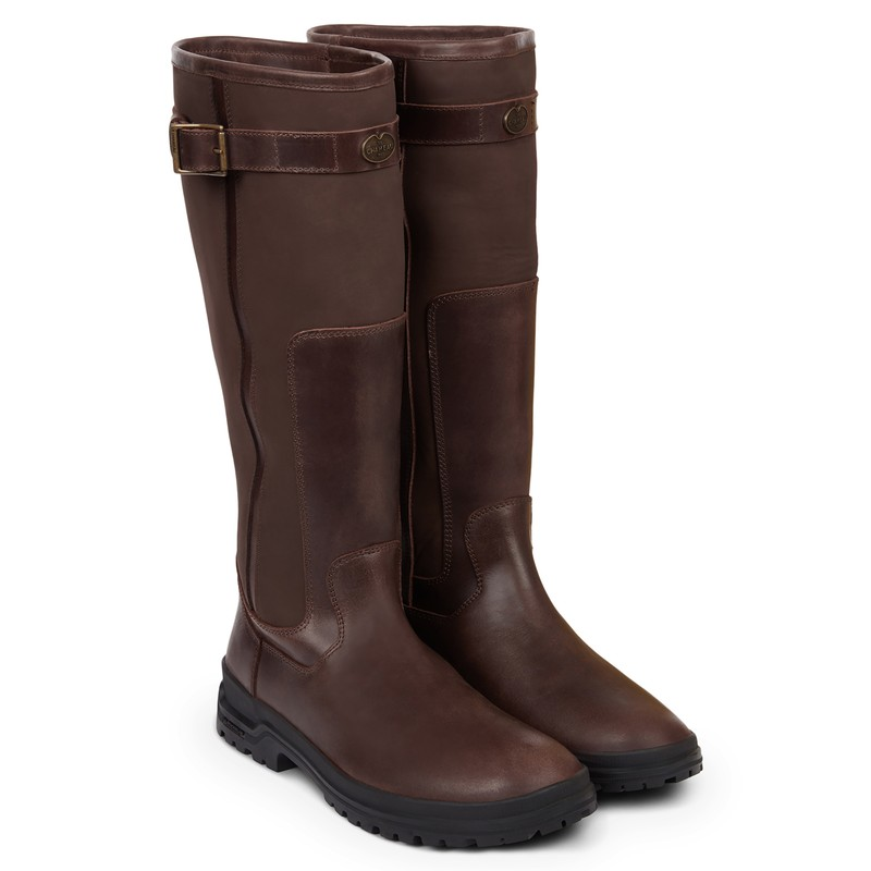 Jameson Unisex Standard Fit Leather Wellingtons