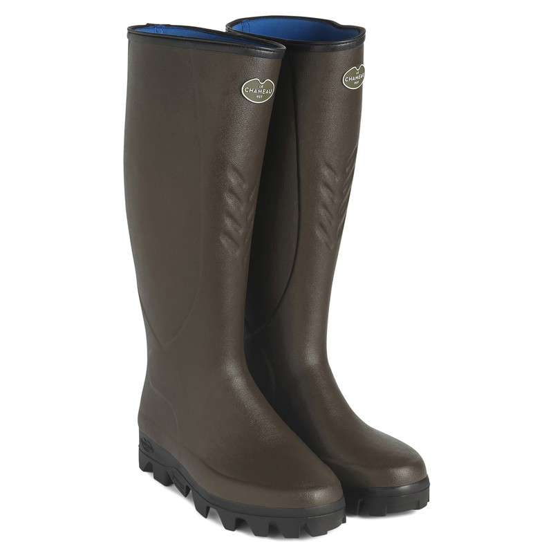 Men's Cérès Neoprene Lined Wellington Boots