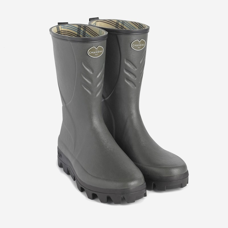 Men's Cérès Jersey Lined Low Wellington Boots
