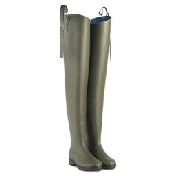 Unisex Deltanord Thigh High Wellington Boots