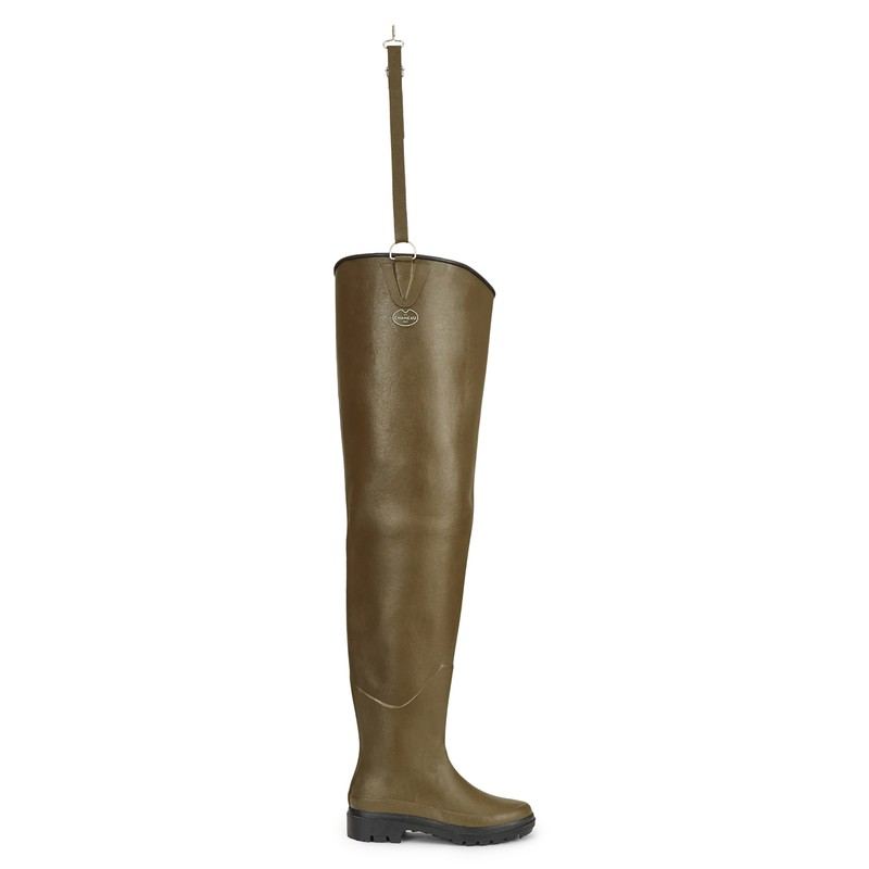Unisex Delta Limaille Ponti Thigh Wellingtons