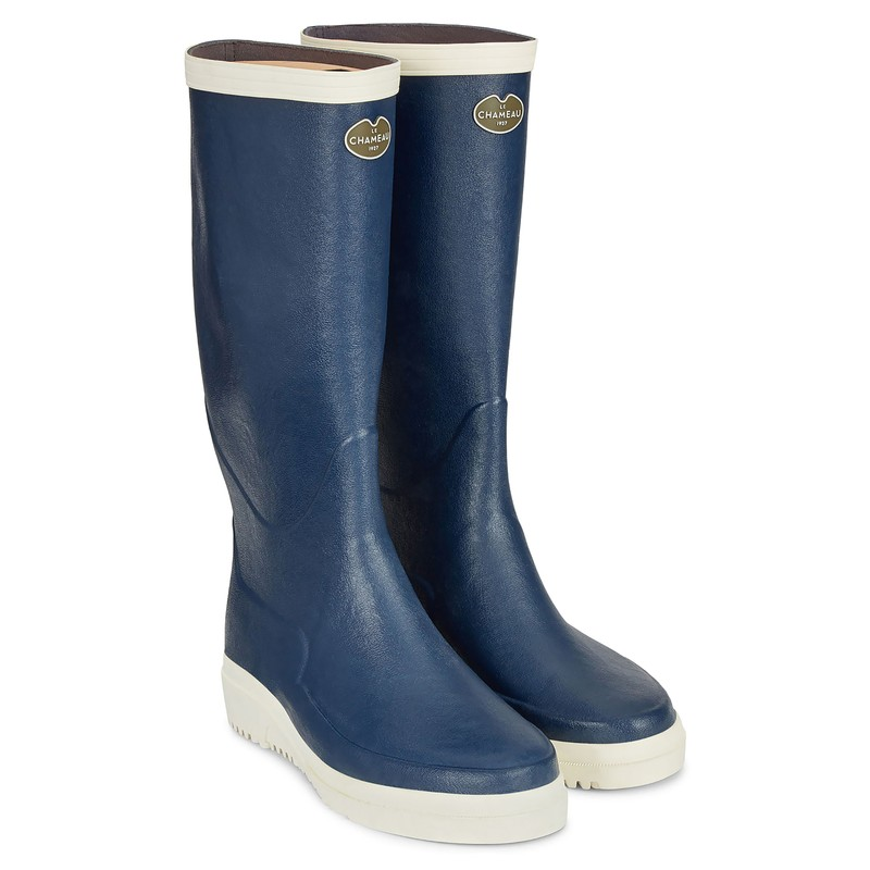 Men's Marine Evo Ponti Lined Wellington Boots