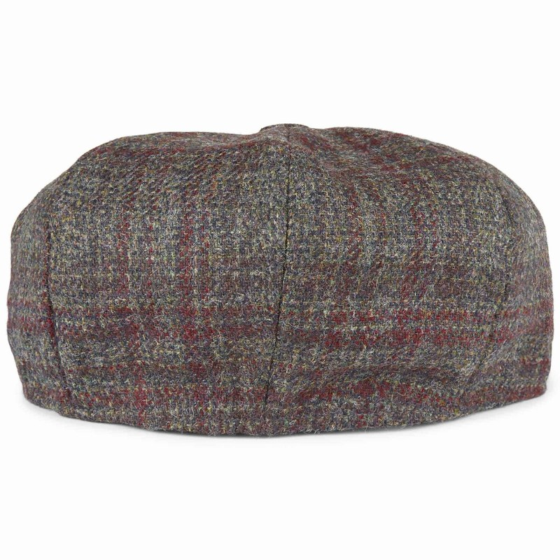 Casquette anglaise en tweed -
