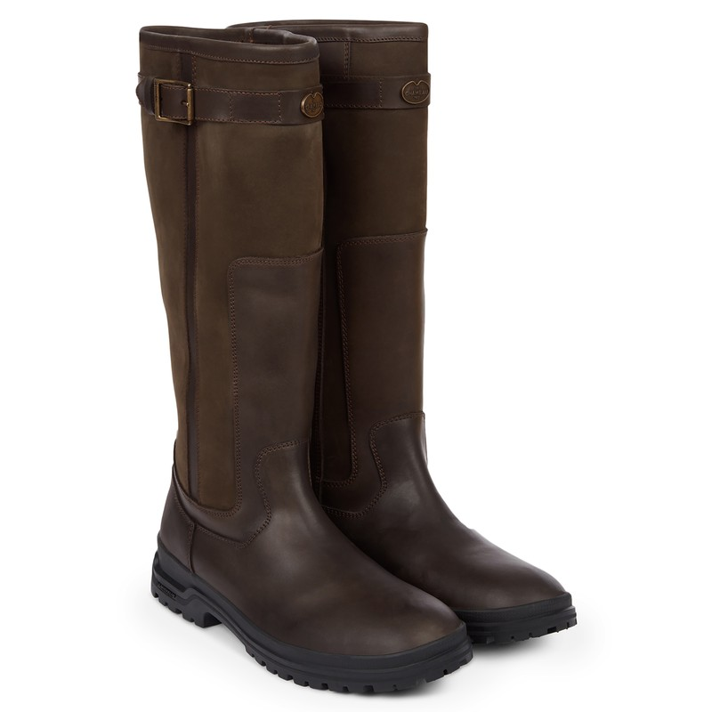 Jameson Unisex Wide Fit Leather Wellington Boots