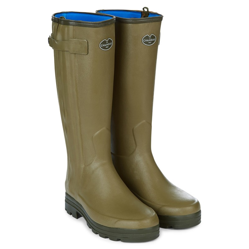 Men's Chasseur Neoprene Lined Wellington Boots