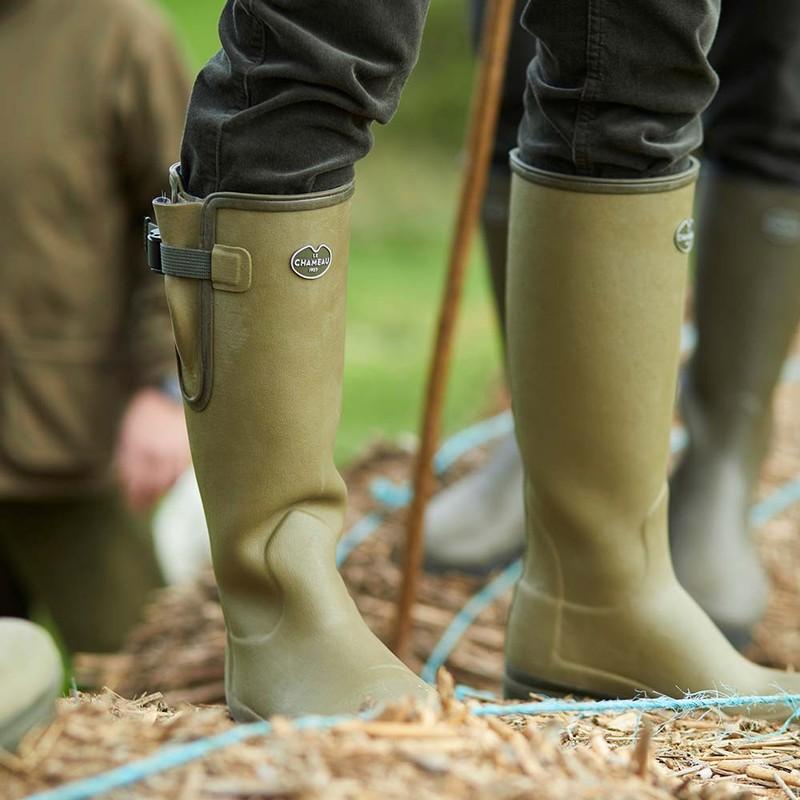 Women's Vierzon Jersey Lined Wellington Boots -