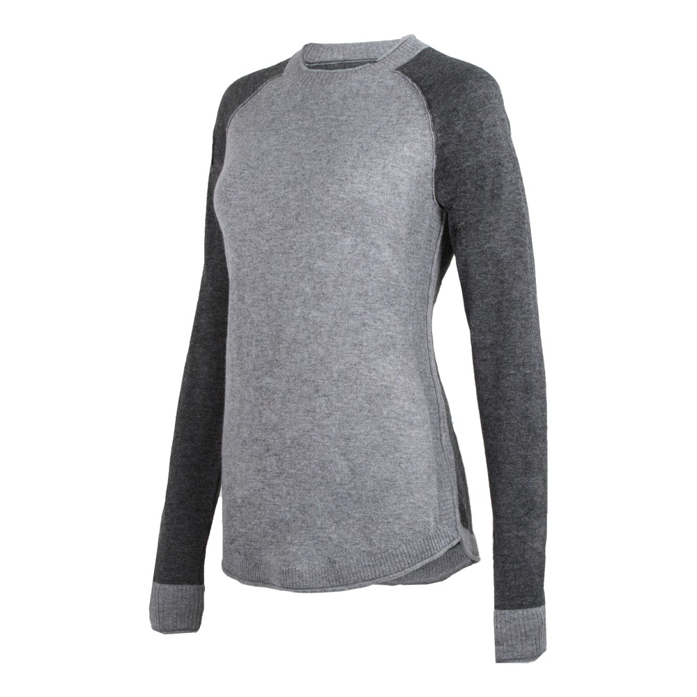 Homerun Crew Sweater Heather Grey