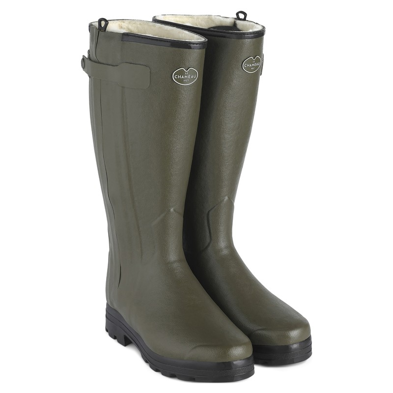 Men's Chasseur Wool Lined Wellington Boots