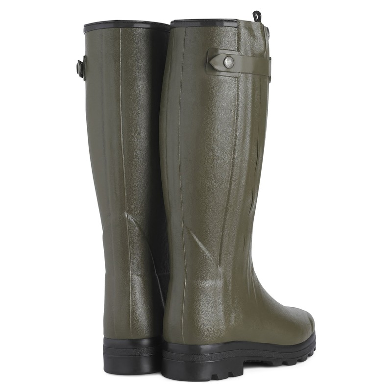 Men's Chasseur Wool Lined Wellington Boots -