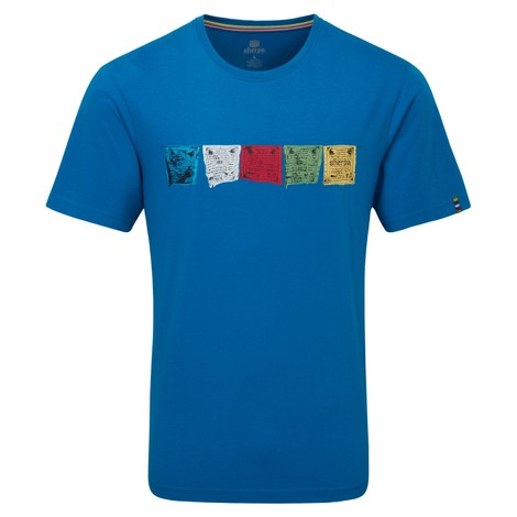Sherpa Adventure Gear Tarcho Tee in Kongde Blue