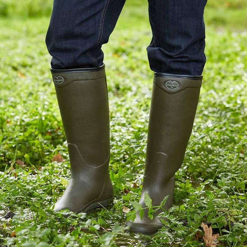Unisex Country Vibram Neoprene Lined Boot -
