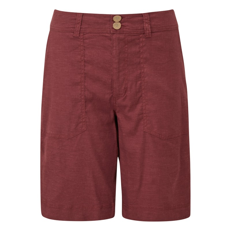 Kiran Bermuda Short - Ganden Red
