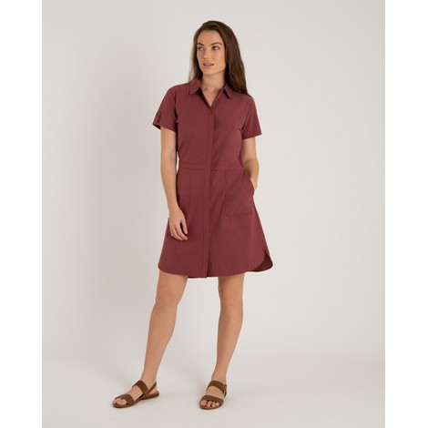 Sherpa Adventure Gear Sajilo Dress in Ganden Red