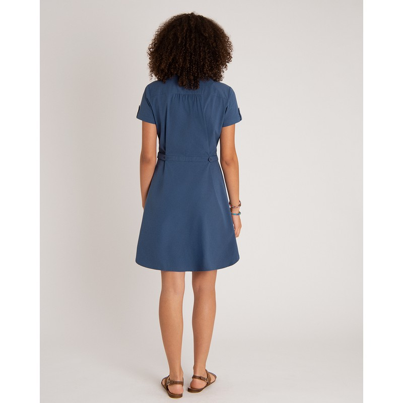 Sajilo Dress - Neelo Blue