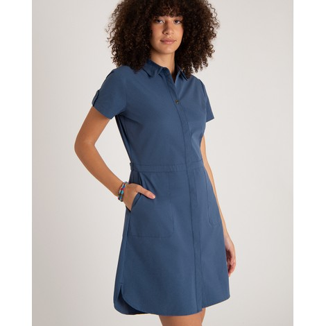 Sherpa Adventure Gear Sajilo Dress in Neelo Blue