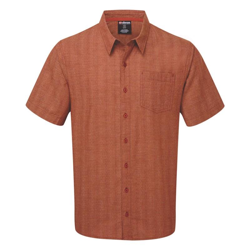 Arjun Short Sleeve Shirt - Teej Orange