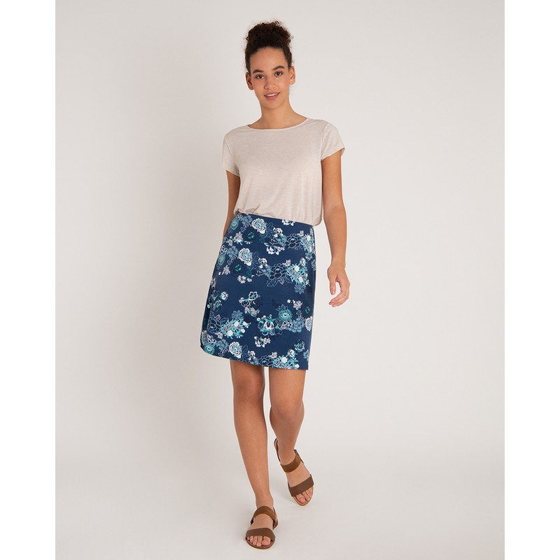 Padma Pull-On Skirt - Neelo Print