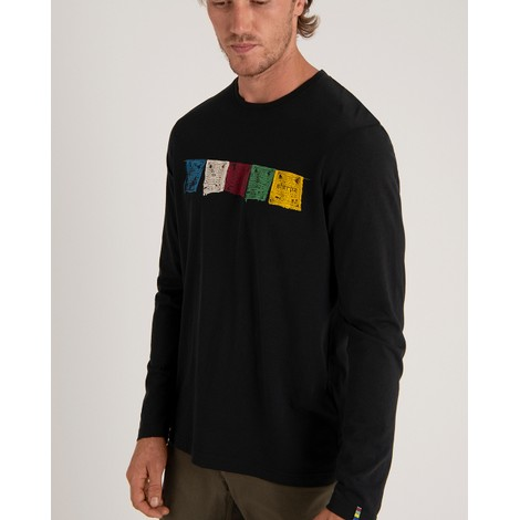 Tarcho Long Sleeve Tee Black