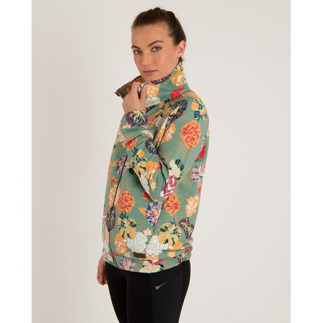 Sherpa Adventure Gear Zehma Full Zip Jacket in Mechi Print