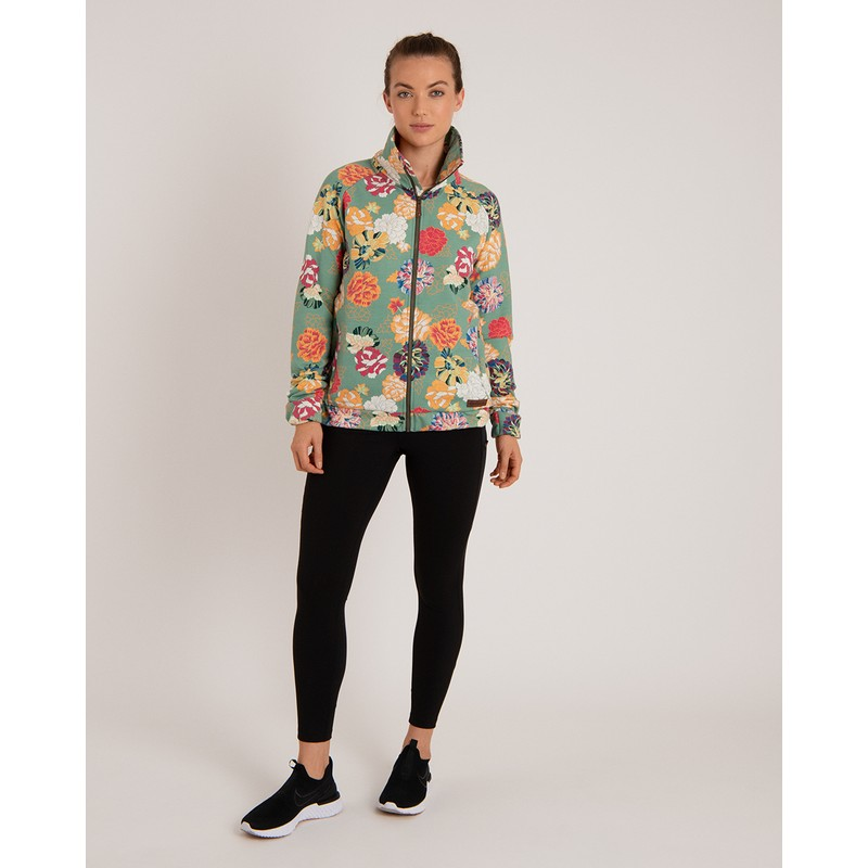 Zehma Full Zip Jacket - Mechi Print