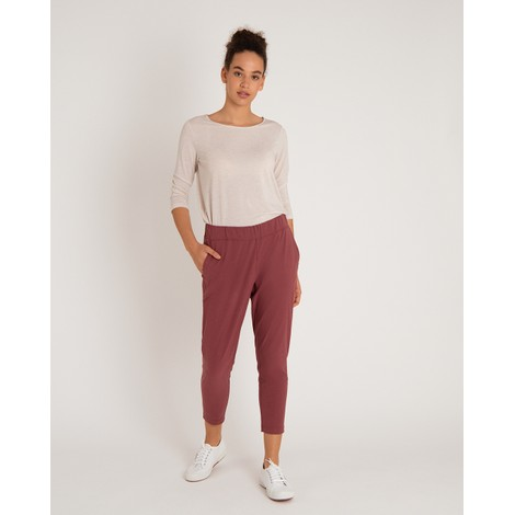 Sajilo Cropped Pant Ganden Red